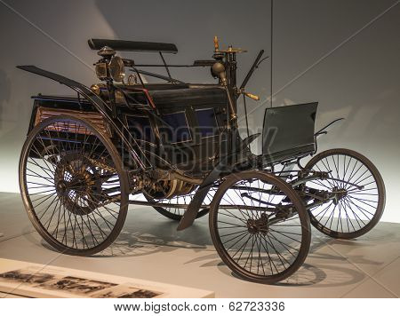 STUTTGART, GERMANY - MARCH 30, 2014: Museum