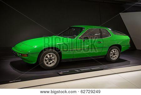 STUTTGART, GERMANY - CIRCA APRIL, 2014: Porsche Museum. PORSHE