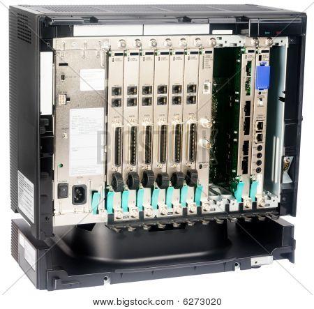 Telephone Switch Isometrics View