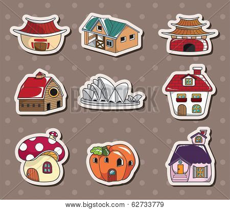 House Stickers