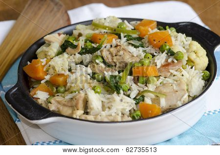 Chicken And Vegetable Pilaf