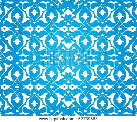 Blue Ottoman Decorative Background Version