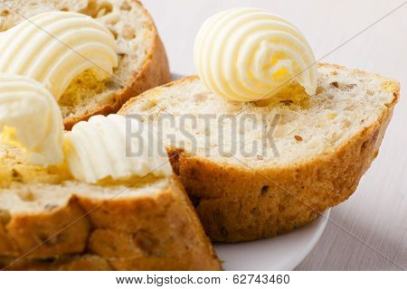 Butter Curl S On Bread