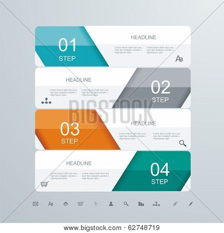 Web Design Element Frame Template