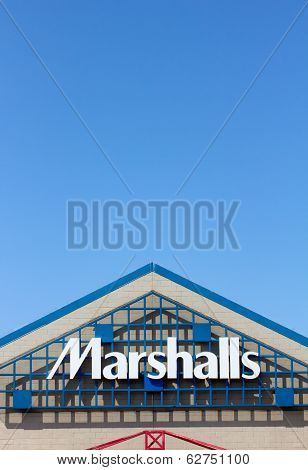 Marshall Department Store Exterior.