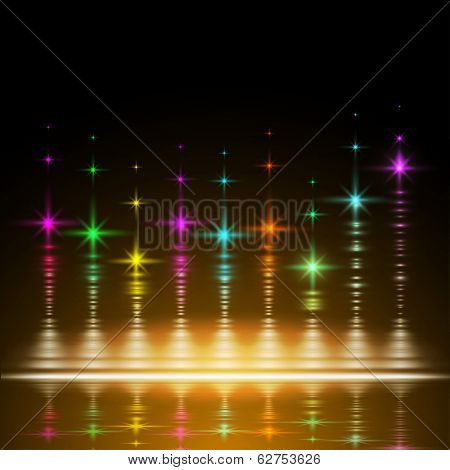 abstract music volume equalizer concept background