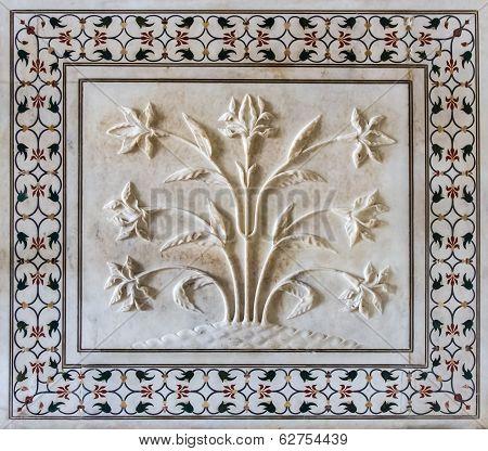 Taj Mahal Details. Agra, India