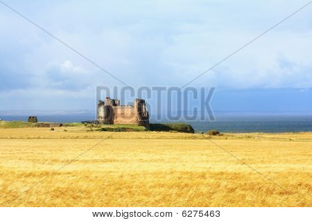 Tantallon Castle, West Lothians, Scotland