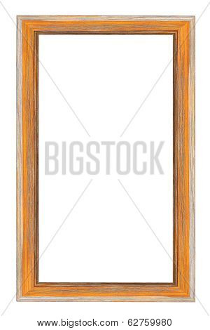 Photo Frames On The White Background