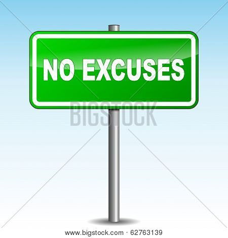 Vector Excuses Signpost