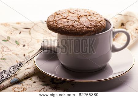 Almond Cookie On A Cup