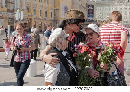 Congratulations veterans on Victory Day