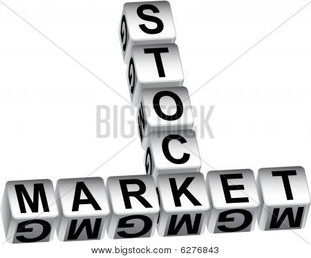stock market dice message