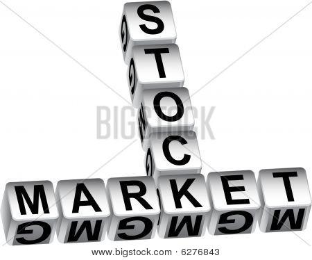 mensaje de dados del mercado de valores