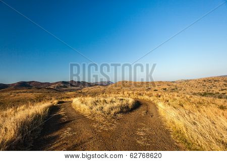 U Turn Dirt Road Wilderness