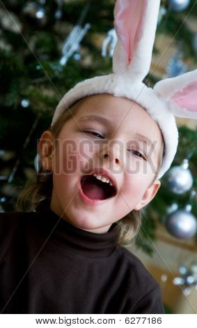 Downy Bunny Costume.