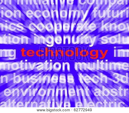 Technology Means Technological Developments Advances And Evolutions