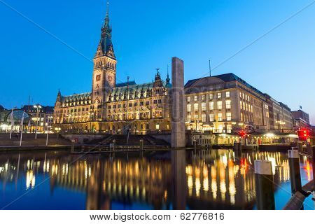 Hamburgs beautiful townhall