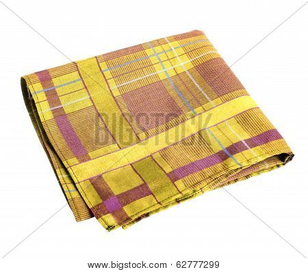 Yellow orange handkerchief