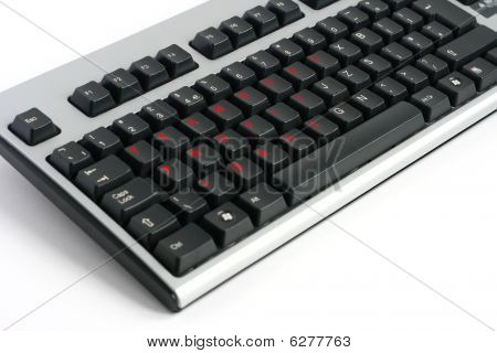 Teamwork Profit Ideas Keyboard Written In Red