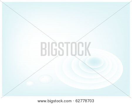 A Blue Abstract Background Of Water Wave
