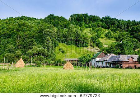 Rural landscape in Maramures