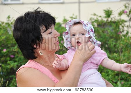 Girl With Granny