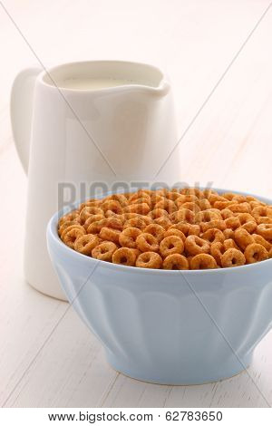 Whole Wheat Cereal Loops