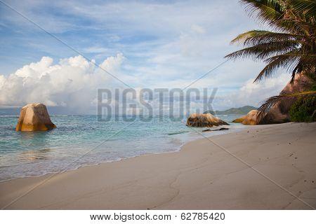 Deserted Beautiful Tropical Beach