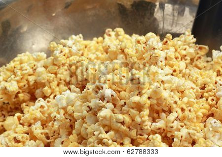 Popcorn A Caramel Coated In Market