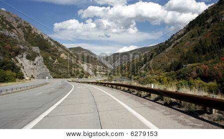 Provo Canyon road, Utah