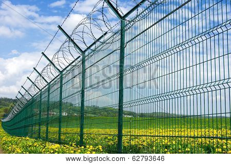 Barbed Fence