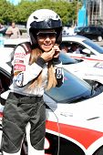 LOS ANGELES - APR 1:  Vanessa Marcil at the Toyota Grand Prix of Long Beach Pro/Celebrity Race Press