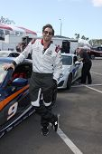 LOS ANGELES - APR 1:  Adrien Brody at the Toyota Grand Prix of Long Beach Pro/Celebrity Race Press D