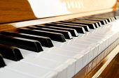 stock photo of pipe organ  - close - JPG