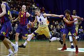 Euroleague Basketball Game Budivelnik Kyiv Vs Fc Barcelona