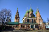 Church of St. Nicholas the Wet. Yaroslavl, Russia