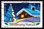 Postage Stamp France 2002 Home, Holiday Greetings