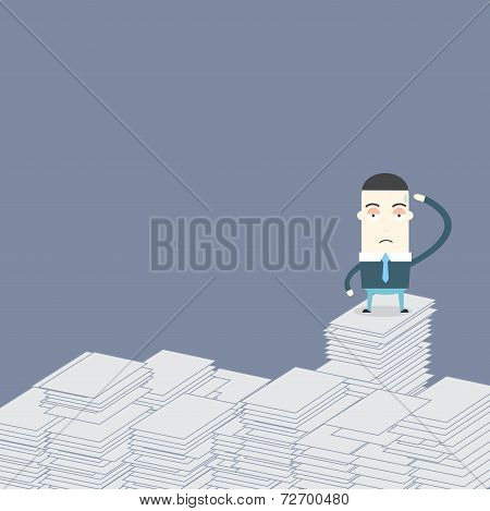 Many Work Many Jobs For Business Conceptual