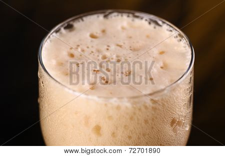 Dark Beer Closeup