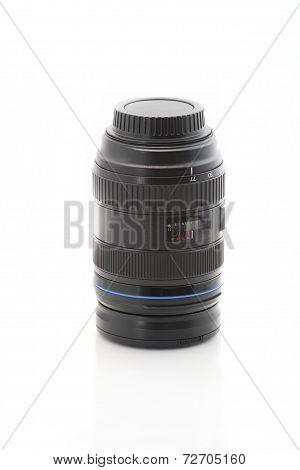 camera black zoom lens