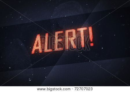 Alert Text On Virtual Screens