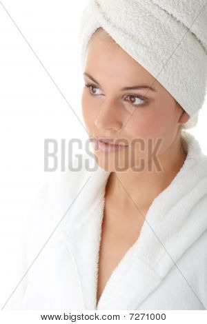 Woman After Bath