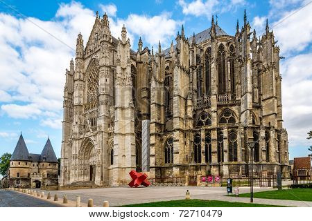 Cathedral In Beauvais