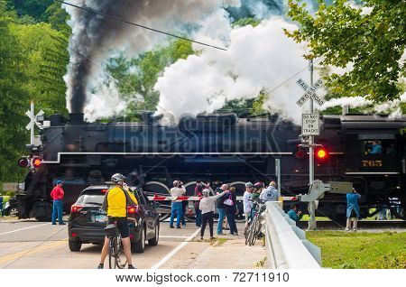 Steam Engine Crossing