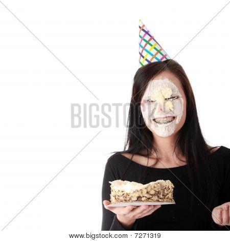 Food Fight - Funny Portrait