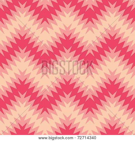 Blurry Pink Zigzag
