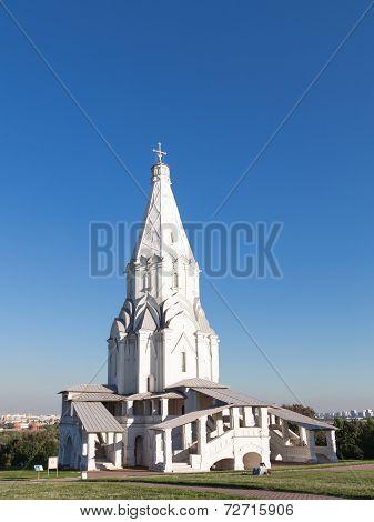 Church Of The Ascension In Kolomenskoye