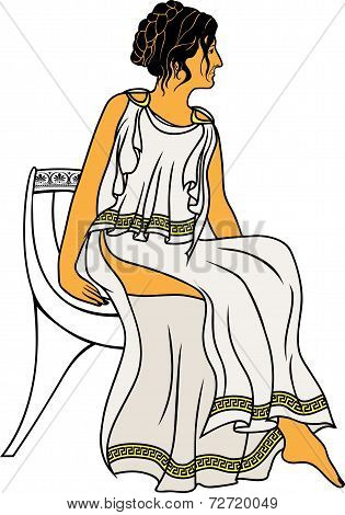 Ancient Greek woman