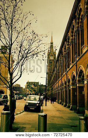 Autumn London Street
